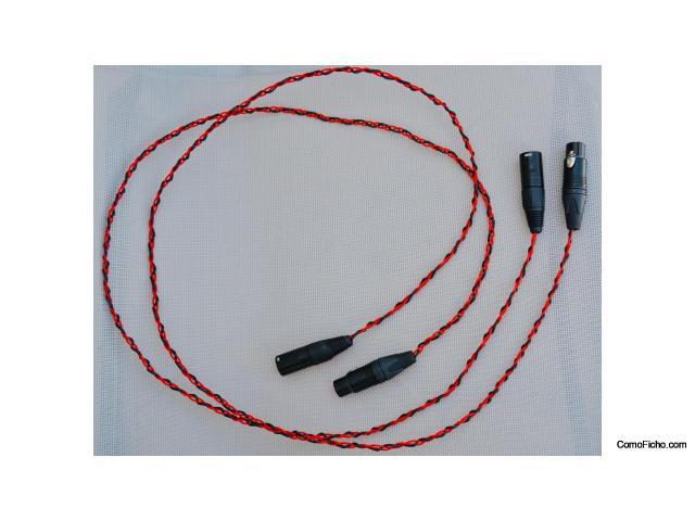 VENDIDOS! - Cables balanceados Neotech/Neutrik, 130 cms