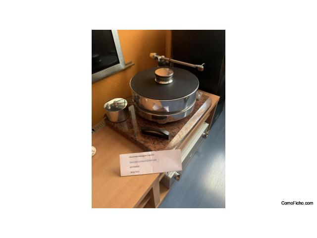 (Vendido)Transrotor Fat Bob + Transrotor Phono II