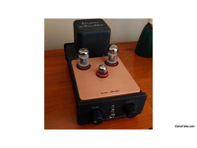 Amplificador de auriculares valvular Icon Audio HP8 mk2,  versión top