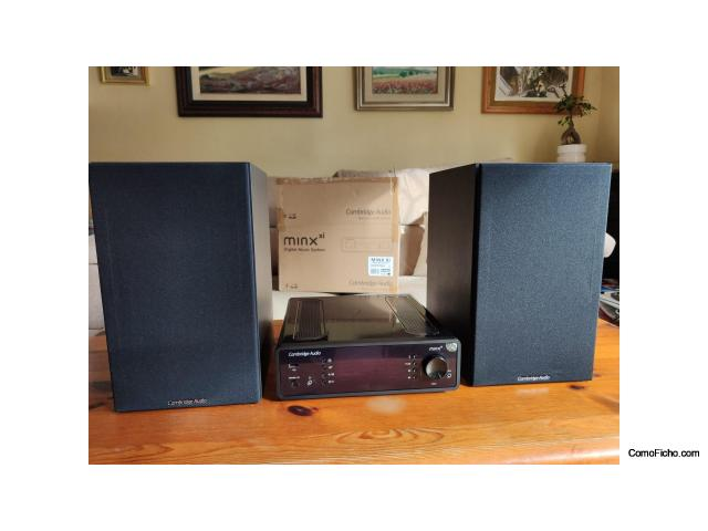 Equipo Hi-Fi Cambridge Audio minx xi + SX-60