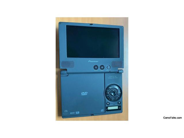 Reproductor DVD portátil Pioneer PDV-LC10
