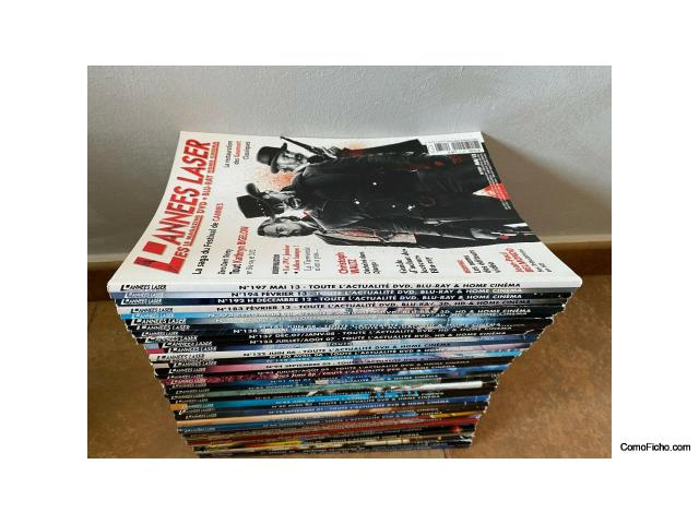 Magazine LES ANNES LASER - Lote de 37 revistas años 1998 - 2013