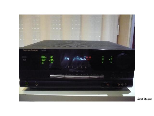 Amplificador/receptor HARMAN KARDON AVR3500 + Lector DVD25