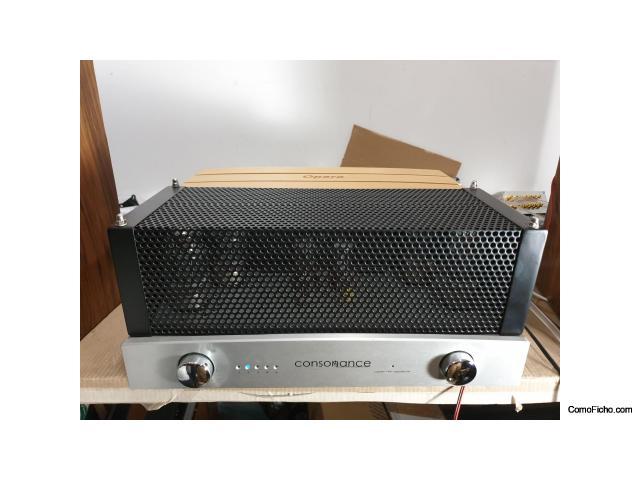 Amplificador integrado Válvulas Opera Consonance Cyber 100 signature