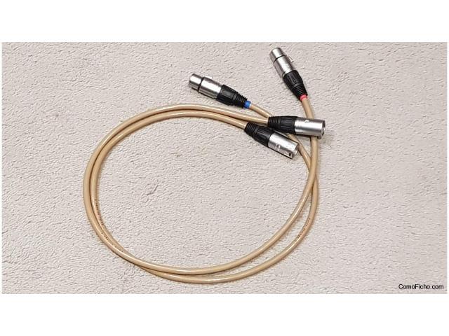 CELLO Strings 1  XLR 1 m  (  dos pares )