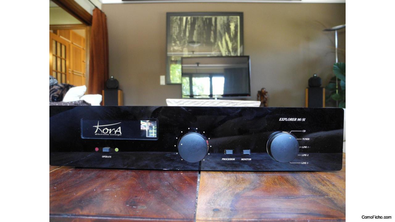 Kora Explorer 90 SI Hibrid amplifier VENDIDO