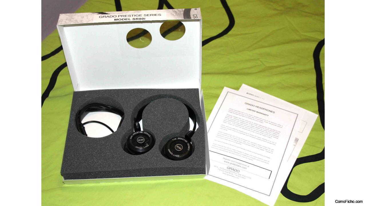 Auriculares Abiertos Grado SR80 i de alta calidad