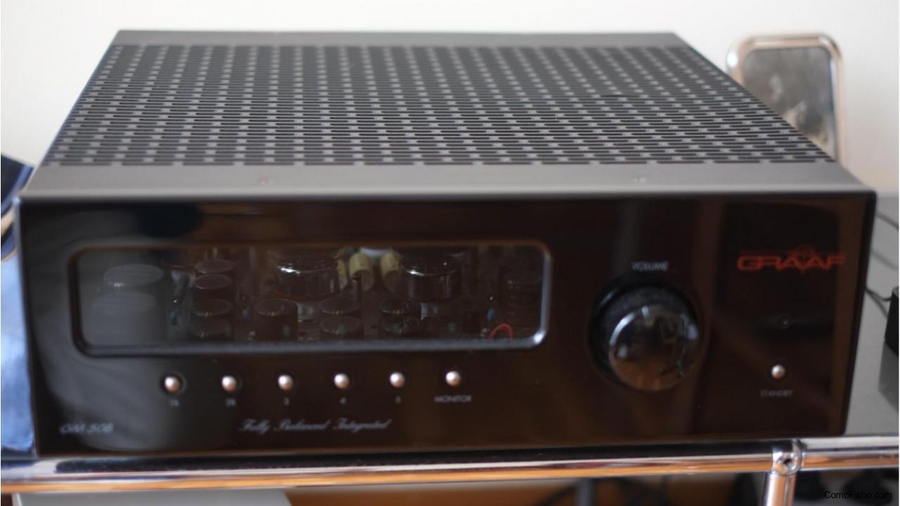 Amplificador GRAAF GM50b