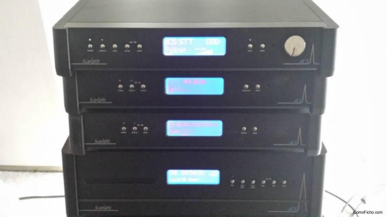 dCS Scarlatti four box system