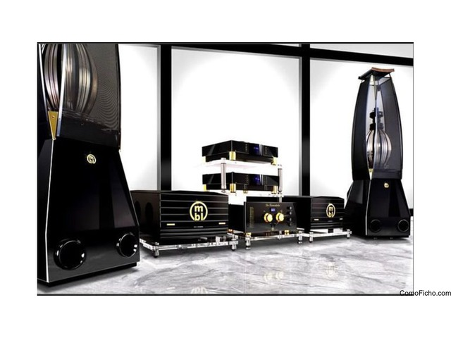 Ultra highend audio MBL Reference sound system