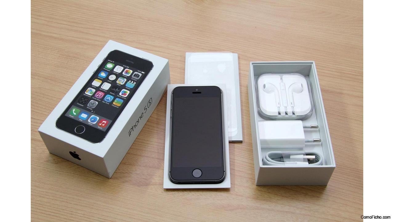 iPhone 5s 16Gb Space Gray NUEVO