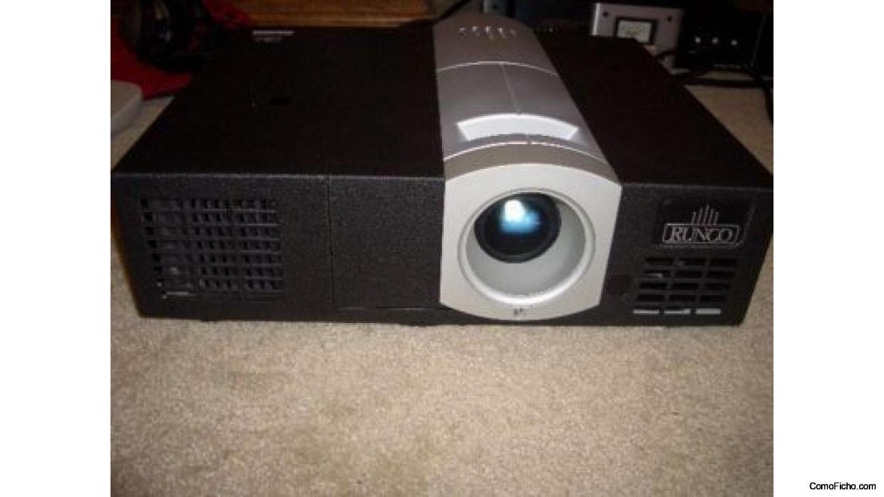 Videoproyector RUNCO cl-500