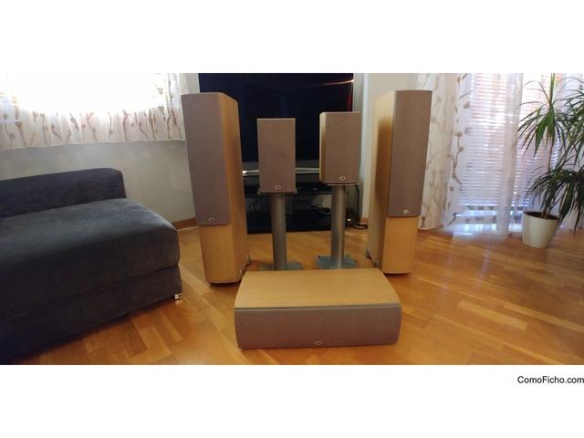 Altavoces PSB Home Cinema 5.1 + Receptor A/V Yamaha  RX V757