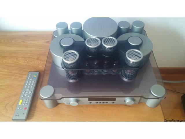 Espectacular amplificador a válvulas germana T+A V10 2x80 W