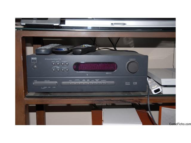 Amplificador NAD T743