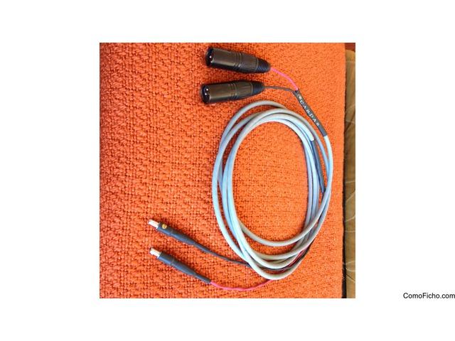 [VENDIDO] Cable de auricular Cardas Cross para HD800, 2 XLR-3, longitud 3m