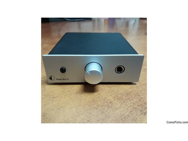 Amplificador de auriculares Project Head Box S