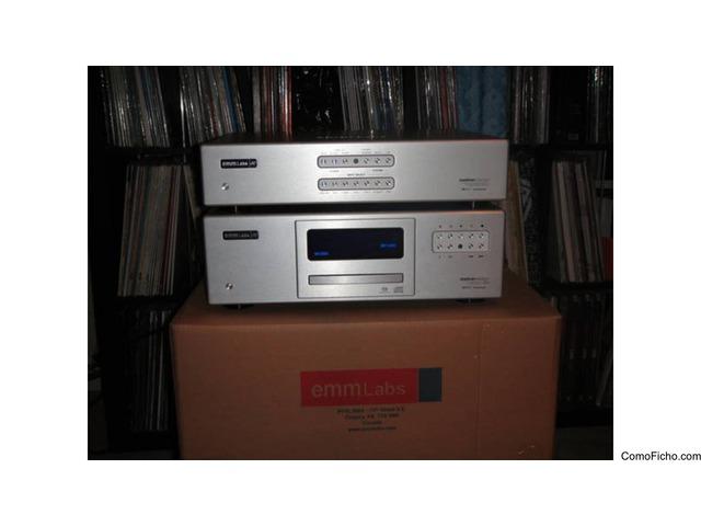 Emm Labs DAC2 stereo D/A converter / TSD1 CD-SACD