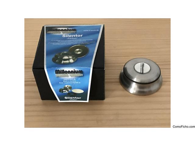 Lp Millenium Carbon Mat y Clamp Silentor