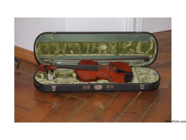 Violín de Carl Gottlob Schuster 1924 Markneukirchen