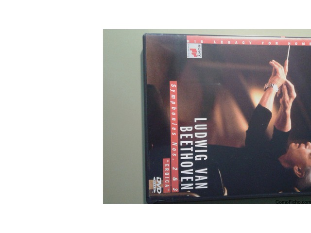 """Beethoven Sinfonías 2 y 3 """"Eroica"""" Karajan"""