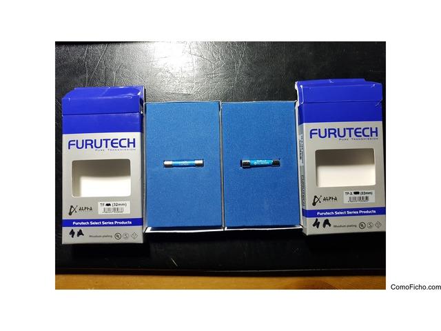 Fusibles audio Furutech  4 A