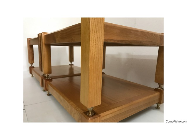 (4 shelves) 100% natural ash wood for AMP Mcintosh, Krell,Pass Lab,Mark Levinson