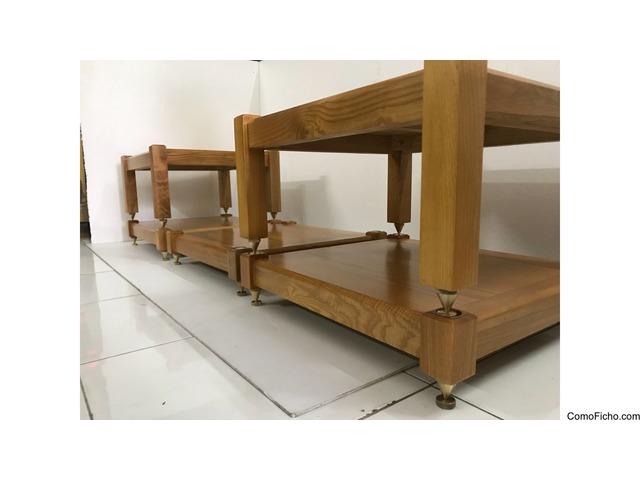 (5 shelves) 100% natural ash wood for AMP Mcintosh, Krell,Pass Lab,Mark Levinson