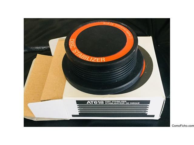 Vendido!! Disco Estabilizador Audio Technica AT618