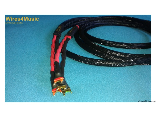 "Wires 4 Music ""Musica"" cable de altavoz"