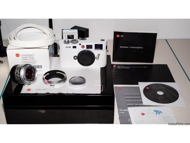 Leica M8 Blanco Edición limitada