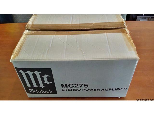 McIntosh MC275 amplificador con 2 canales